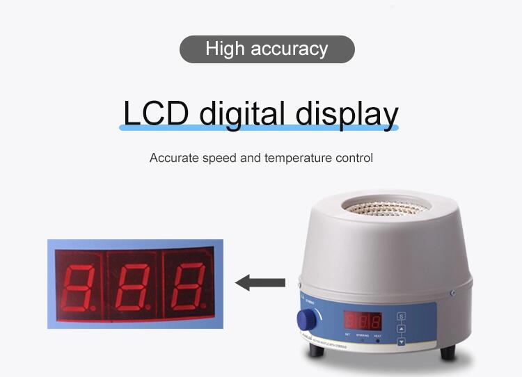 Digital display magnetic stirring heating mantle(98-III-B)