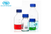 Glass Clear Reagent Bottle With Blue Screw Cap 100ml 250ml 500ml 1000ml