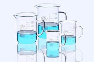 50~2000ml Glass Beaker Mug Cup With Handle 3.3 Borosilicate Glass Lab Glassware Clear And Thick Wall