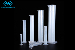 Graduated Plastic Measuring Cylinder
